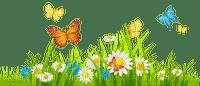 Kaz_Creations Grass Flowers Garden