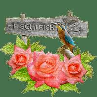 lintu, kukka, ruusu