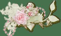 pink rose deco