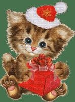 chat noel cat christmas