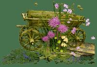 wagon deco jardin waggon garden