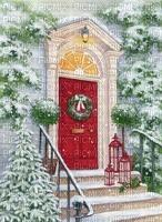 Weihnachten, Tür, Hintergrund