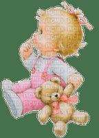Baby, Girl, Mädchen, Teddy