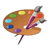 color brush palette paint painting paintinglounge