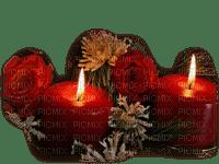 cecily-bougies rouge noel