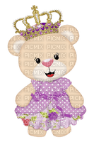 Princesse ours princess bear peluche teddy
