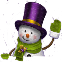 snowman bonhomme de neige