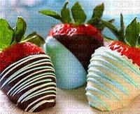 fraises enrobées de chocolat