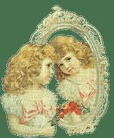 mujer y espejo by EstrellaCristal