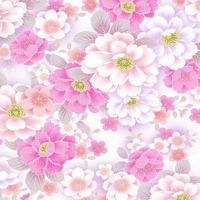 pink flower bg overlay transparent