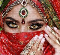 image encre femme fashion l' orient Inde Arabe Arabian mariage carnaval manucure les yeux edited by me