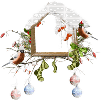 cecily-petit cadre hiver oiseaux boules