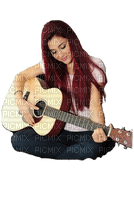 Kaz_Creations Woman Women  Femme Guitar
