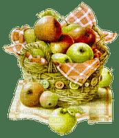 pomme panier deco apple basket