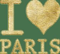 I love Paris, text, Rakastan Pariisia