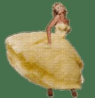 femme en jaune.Cheyenne63