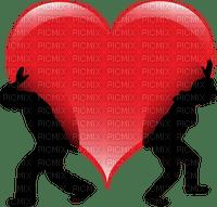 couple heart coeur valentin