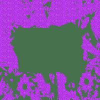 purple frame transparent cadre violet