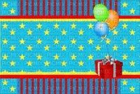 multicolore image encre effet néon étoiles bon anniversaire mariage cadeau ballons bleu jaune violet vert rouge rayures  deco edited by me