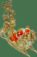 santa sleigh noel