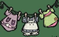 baby clothesline bebe corde à linge