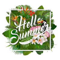 Kaz_Creations Logo Text Hello Summer