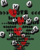 valentine valentin valentinstag tube image deco text love cher