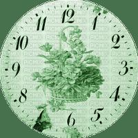 Clock-Parts, Clock-Face, Clocks, Deco, Decoration, Flower, Flowers, Green - Jitter.Bug.Girl