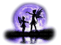 fairy moon purple  feerie lune violette