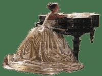 Kaz_Creations Woman Femme Piano Music