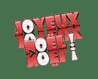 joyeux noel text
