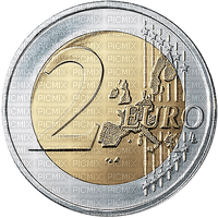 Pièce de 2 euro € coin money sous
