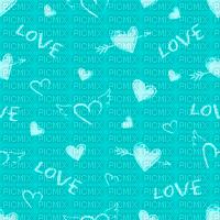 Love, Heart, Hearts, Aqua, Deco, Background, Backgrounds - Jitter.Bug.Girl