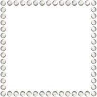 marco cadre marta frame brown blanco perlas