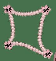 Frame, Pink, Pearls - Jitter.Bug.Girl