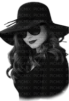 woman femme frau beauty tube human person people vintage black hat