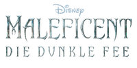 disney maleficent die dunkle fee text logo