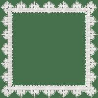 white lace frame cadre blanc dentelle