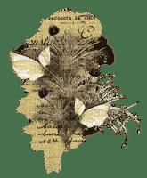 Deco.Fleur.vintage,papillon.butterflies.plante.Victoriabea