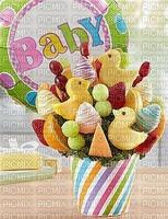 fruit frais arrangement bébé edited by me