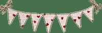 banderole coeur st valentin panneau Smiraikun smkstan4