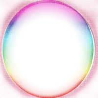 pink colorful circle frame