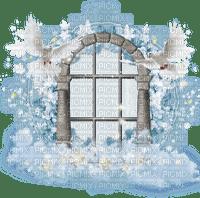 window heaven doves fenetre ciel colombe