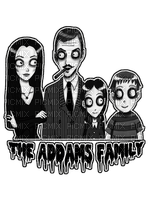 The Addams Family - text