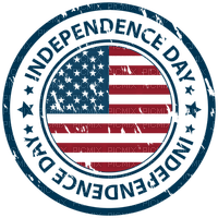 Kaz_Creations America 4th July Independance Day American Stamp