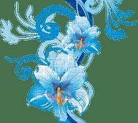 teal flower deco turquoise fleur