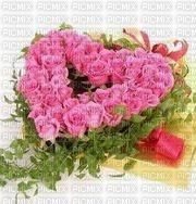 Heart in flowers
