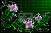 kwiaty ramka