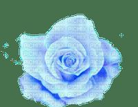 blue rose deco