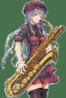 Anime saxophoniste